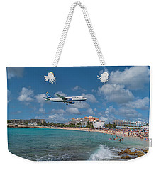 jetBlue at St. Maarten Weekender Tote Bag