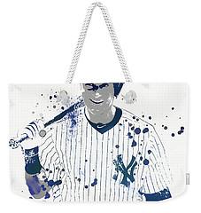Jeter Weekender Tote Bag