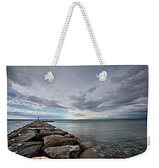Jetty At Meschutt Weekender Tote Bag