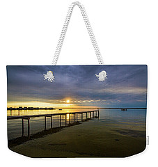 Jetty Four Bayside Sunset Weekender Tote Bag