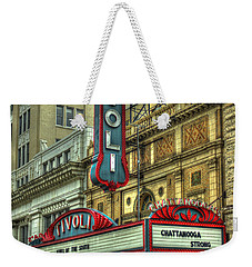 Jewel Of The South Tivoli Chattanooga Historic Theater Weekender Tote Bag by Reid Callaway