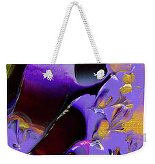 Jeweled Amethyst Weekender Tote Bag