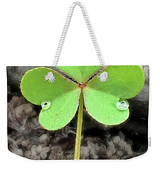 Jeweled Clover 3 Weekender Tote Bag