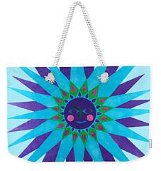 Jeweled Sun Weekender Tote Bag