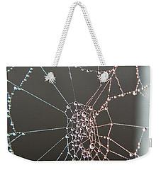 Jeweled Web Weekender Tote Bag