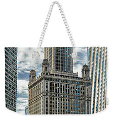Jewelers Building Chicago Weekender Tote Bag