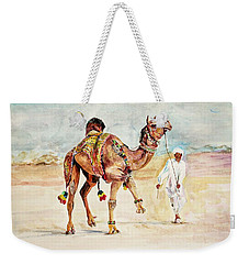 Jewellery And Trappings On Camel. Weekender Tote Bag