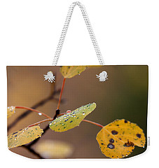 Jewels Of Autumn Weekender Tote Bag
