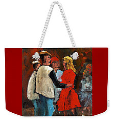 Round De Floor With Yer Trotters Shake Weekender Tote Bag