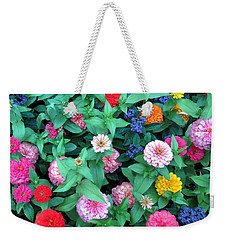 Jigsaw Puzzle? Weekender Tote Bag by Betty Buller Whitehead