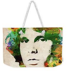 Jim Morrison Colorful Portrait Weekender Tote Bag