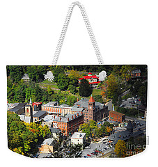 Jim Thorpe Pa Weekender Tote Bag by Cindy Manero