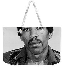 Jimi Hendrix Mug Shot Vertical Weekender Tote Bag
