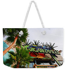 Jimmy Buffets Margaritaville In Las Vegas Weekender Tote Bag