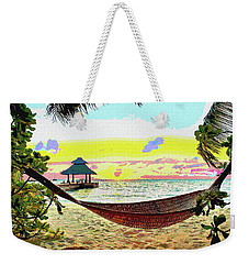 Jimmy Buffett's Margaritaville Weekender Tote Bag by Charles Shoup