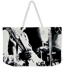 Jimmy Hendrix Purple Haze Weekender Tote Bag
