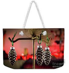 Jingle Pinecones Weekender Tote Bag