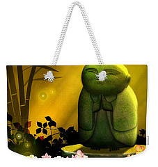Jizo Bodhisattva Weekender Tote Bag by John Wills