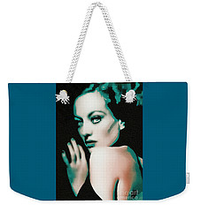 Joan Crawford - Pop Art Weekender Tote Bag