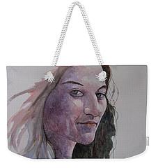Joanna Weekender Tote Bag by Ray Agius