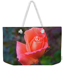 Weekender Tote Bag featuring the photograph Joanne by Mark Blauhoefer