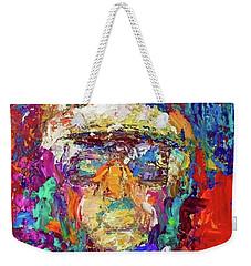 Jockey Portrait Weekender Tote Bag
