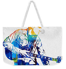 Joe Bonamassa Weekender Tote Bag by Dan Sproul