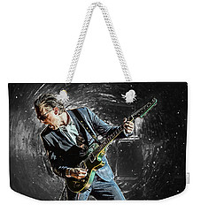 Joe Bonamassa Weekender Tote Bag by Taylan Apukovska