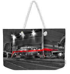 Joe Louis Arena Detroit Mi Weekender Tote Bag by Nicholas  Grunas