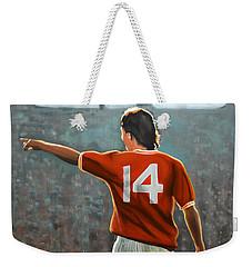 Johan Cruyff Oranje Nr 14 Weekender Tote Bag