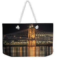 John A. Roebling Suspension Bridge Weekender Tote Bag