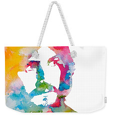 John Bonham Watercolor Weekender Tote Bag by Dan Sproul
