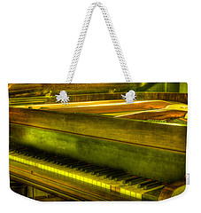 John Broadwood And Sons Piano Weekender Tote Bag by Semmick Photo