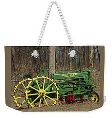 John Deer Tractor Weekender Tote Bag