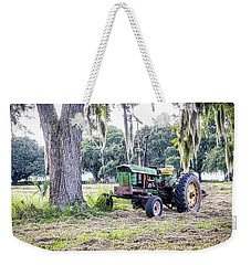 John Deer - Work Day Weekender Tote Bag by Scott Hansen