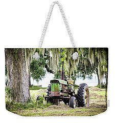 John Deere - Hay Day Weekender Tote Bag by Scott Hansen