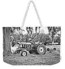 John Deere - Hay Rake Weekender Tote Bag by Scott Hansen
