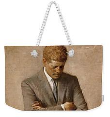 John F Kennedy Weekender Tote Bag