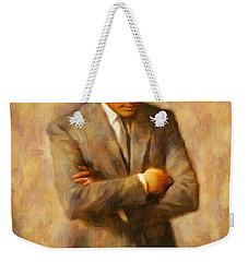John Fitzgerald Kennedy Weekender Tote Bag