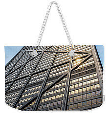 John Hancock Center Chicago Weekender Tote Bag by Steve Gadomski