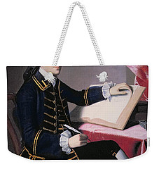John Hancock Weekender Tote Bag by John Singleton Copley