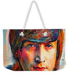 John Lennon Young Portrait Weekender Tote Bag