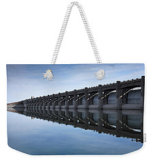 John Martin Dam And Reservoir Weekender Tote Bag by Ernie Echols
