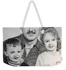 John Megan And Joey Weekender Tote Bag by Stan Hamilton