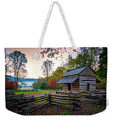 John Oliver Place In Cades Cove Weekender Tote Bag by Rick Berk