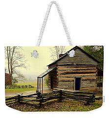 John Olivers Cabin Weekender Tote Bag