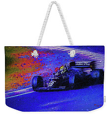 Weekender Tote Bag featuring the mixed media John Player Special by Marvin Spates