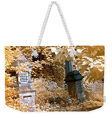 Autumnal Walk At Abney Park Cemetery Weekender Tote Bag
