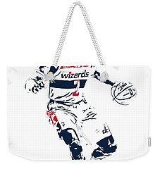 John Wall Washington Wizards Pixel Art 1 Weekender Tote Bag