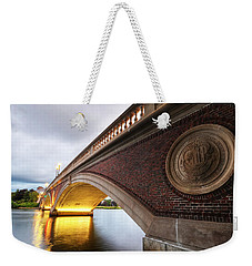 John Weeks Bridge Charles River Harvard Square Cambridge Ma Weekender Tote Bag